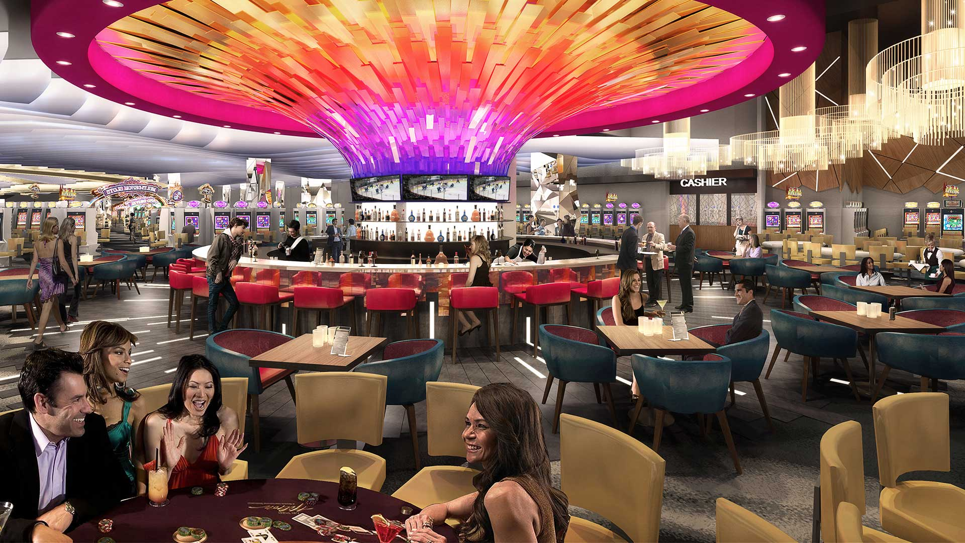 Spectacular $57 Million Transformation of Palace Casino Into Starlight Casino Edmonton Nearing Completion