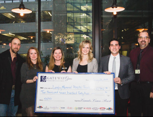 Cascades Casino Raises $10,000 For Langley Memorial Hospital Foundation