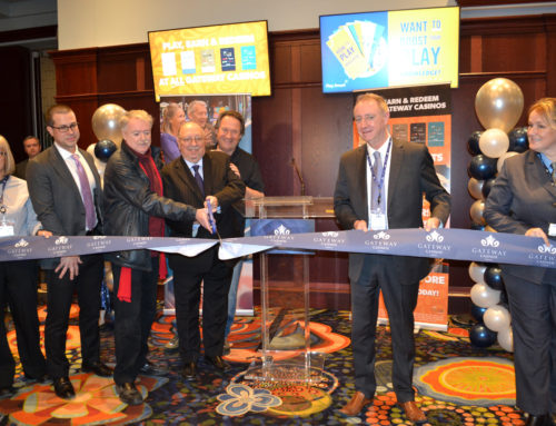 GATEWAY OPENS NEW CASINO IN SARNIA, CREATES 60 NEW JOBS