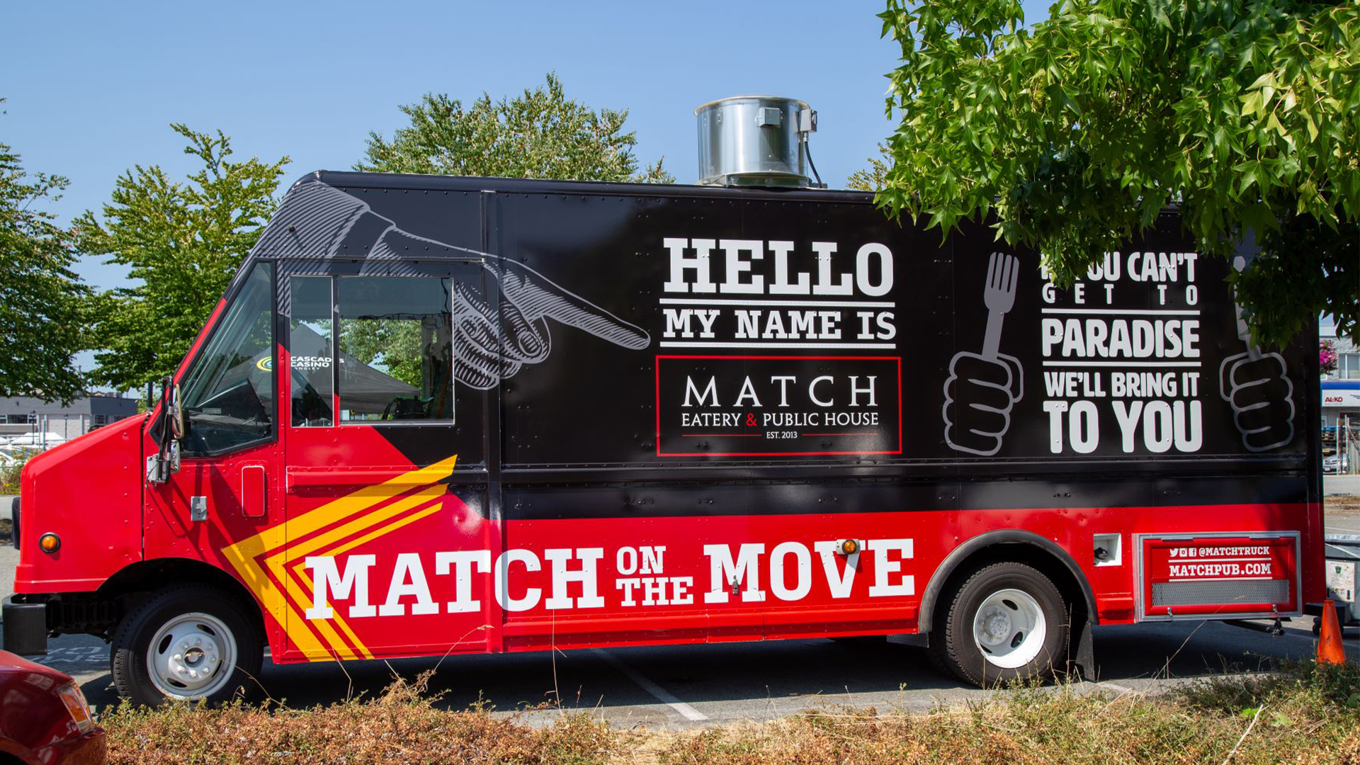MATCH EATERY & PUBLIC HOUSE IS SET TO LAUNCH A FOOD TRUCK IN SUMMER 2021